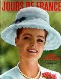 Romy Schneider on the cover of Jours De France (France) - June 1962