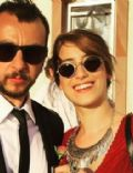 Hazal Kaya and Ali Atay