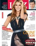 Céline Dion, Ignacio Gadano on the cover of Luz (Argentina) - February 2014