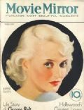 Bette Davis on the cover of Movie Mirror (United States) - February 1933