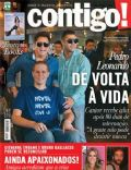 Giovanna Ewbank, Leonardo, Thiago on the cover of Contigo (Brazil) - July 2012