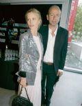 Laura Bailey and Eric Fellner