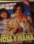 Araceli González, Florencia Torrente on the cover of Tele Clic (Argentina) - April 1993