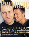 Edward Norton on the cover of Premiere (France) - October 1999