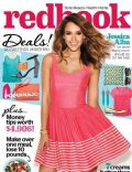 Jessica Alba on the cover of Redbook (United States) - March 2014