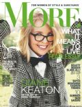 Diane Keaton on the cover of More (United States) - May 2014