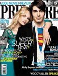 Brandon Routh on the cover of Premiere (United States) - February 2006
