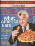 Jay Leno on the cover of Parade (United States) - November 2006