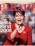 Sarah Palin on the cover of Parade (United States) - December 2008
