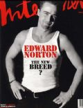 Edward Norton on the cover of Interview (United States) - January 1997