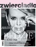 Justyna Pochanke on the cover of Zwierciad O (Poland) - August 2014