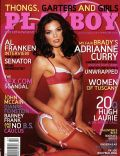 Adrianne Curry on the cover of Playboy (United States) - February 2006