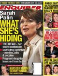 Sarah Palin on the cover of National Enquirer (United States) - September 2008
