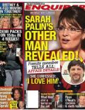 Sarah Palin on the cover of National Enquirer (United States) - October 2008