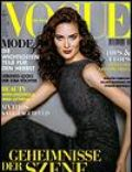 Shalom Harlow, Wayne Maser on the cover of Vogue (Germany) - September 1998