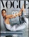 Annie Leibovitz, Christy Turlington on the cover of Vogue (Korea South) - November 2002