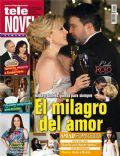 Cielo Rojo, Edith González, Mauricio Islas on the cover of Tele Novela (Spain) - May 2012