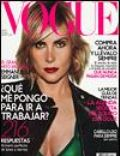 Emmanuelle Seigner, Nicholas Moore on the cover of Vogue (Spain) - October 2003
