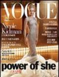 Annie Leibovitz, Nicole Kidman on the cover of Vogue (Taiwan) - December 2003