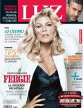 Fergie Duhamel, Leonardo Sbaraglia on the cover of Luz (Argentina) - March 2014