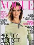 Carmen Kass, Richard Burbridge on the cover of Vogue (United Kingdom) - November 2001