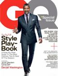Denzel Washington on the cover of Gq (United States) - October 2012
