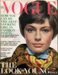 Jacqueline Bisset on the cover of Vogue (United States) - August 1969
