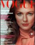 Cher, Jacqueline Bisset on the cover of Vogue (United States) - December 1973
