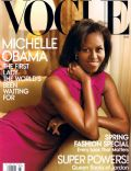 Annie Leibovitz, Michelle Obama on the cover of Vogue (United States) - March 2009