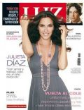 Julieta Diaz on the cover of Luz (Argentina) - February 2009