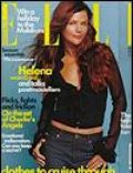 Helena Christensen, Peter Westh on the cover of Elle (Australia) - December 2000