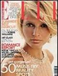 Bridget Hall, Gilles Bensimon on the cover of Elle (Australia) - February 2002