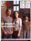 Joaquín Furriel, Pablo Echarri, Paola Krum on the cover of Clarin (Argentina) - April 2006