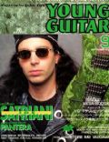 Joe Satriani on the cover of Young Guitar (Japan) - September 1992