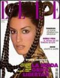 Yasmeen Ghauri on the cover of Elle (Spain) - September 1994
