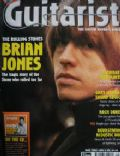 Brian Jones on the cover of Guitarist (United Kingdom) - May 1998