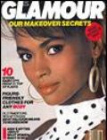 Karen Alexander on the cover of Glamour (United States) - May 1986