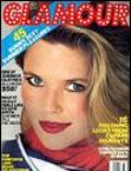 Christie Brinkley on the cover of Glamour (United States) - July 1986