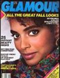 Louise Vyent on the cover of Glamour (United States) - August 1986