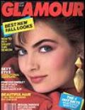 Paulina Porizkova on the cover of Glamour (United States) - September 1986