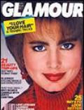 Alexa Singer on the cover of Glamour (United States) - November 1986
