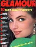 Paulina Porizkova on the cover of Glamour (United States) - December 1986