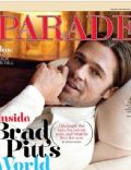 Brad Pitt on the cover of Parade (United States) - September 2011