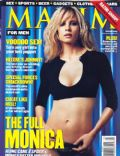 Monica Potter on the cover of Maxim (United States) - March 2001