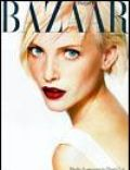 Nadja Auermann on the cover of Harpers Bazaar (United States) - November 1994
