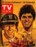 Erik Estrada, Larry Wilcox on the cover of TV Guide (United States) - February 1979