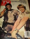 Larry Wilcox on the cover of TV Guide (United States) - 1980