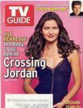 Grace Park, Jill Hennessy, Katee Sackhoff, Tricia Helfer on the cover of TV Guide (United States) - March 2005