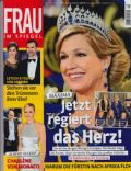 Princess Máxima of the Netherlands on the cover of Frau Im Spiegel (Germany) - May 2013
