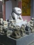 Stone dogs in the Leizhou Peninsula